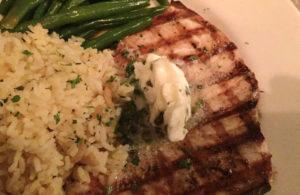 swordfish dinner